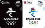 中国银行visa北京冬奥主题信用卡